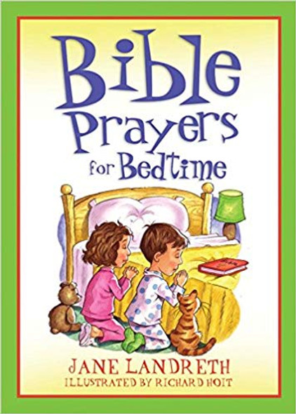 Bible Prayers for Bedtime (Bedtime Bible Stories) Cover