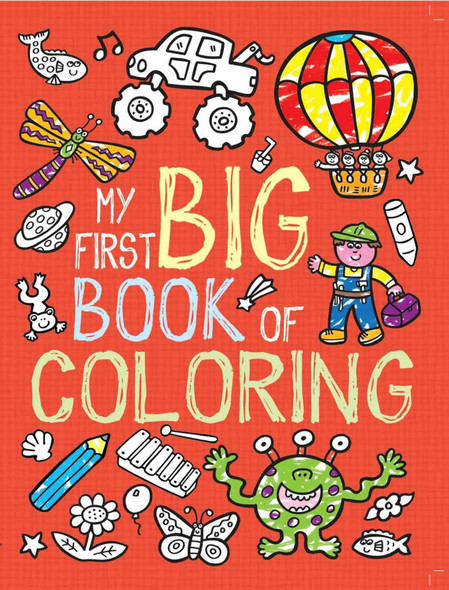 My First Big Book of Coloring Cover