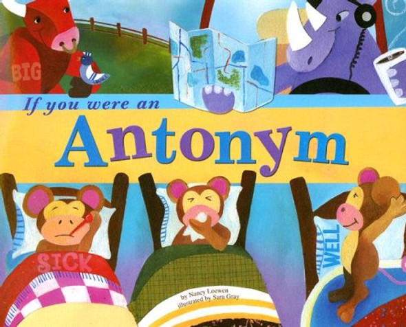 If You Were an Antonym Cover