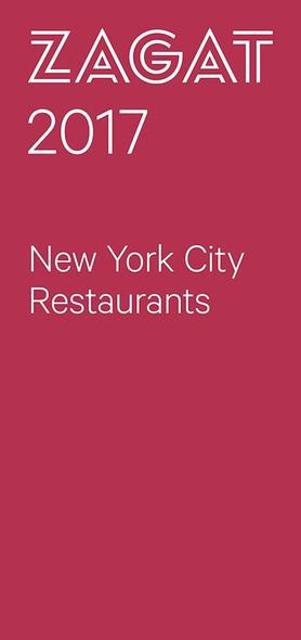2017 New York City Restaurants Cover