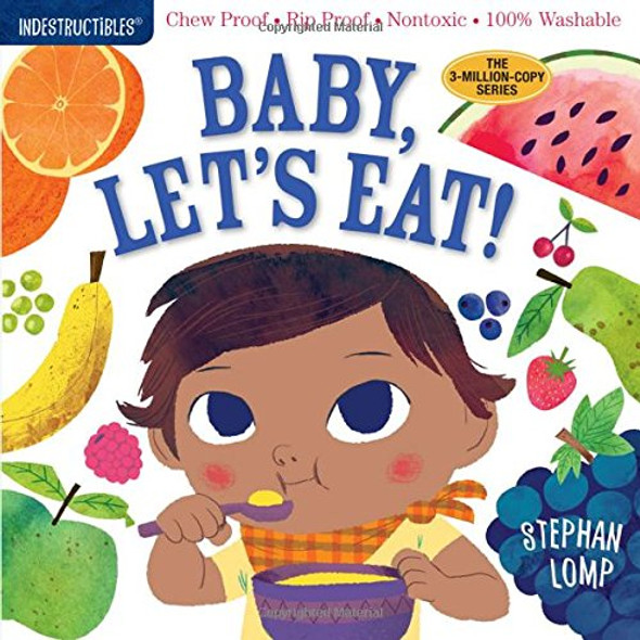 Indestructibles: Baby, Let's Eat! Cover