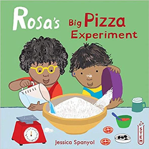 Rosa's Big Pizza Experiment Cover