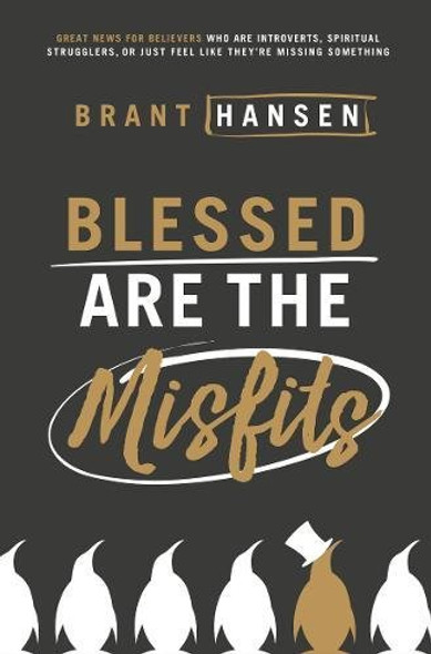 Blessed Are the Misfits: Great News for Believers Who Are Introverts, Spiritual Strugglers, or Just Feel Like They're Missing Something Cover