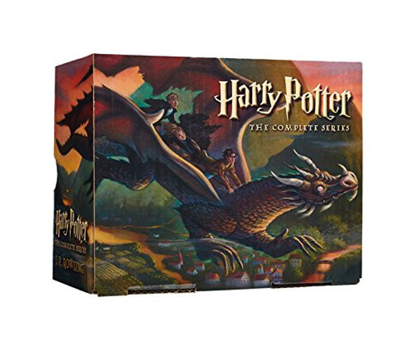 Harry Potter Paperback Boxed Set: Books #1-7 Cover