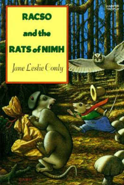 Racso and the Rats of NIMH Cover