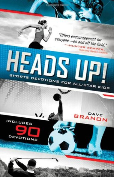Heads Up!: Sports Devotions for All-Star Kids Cover