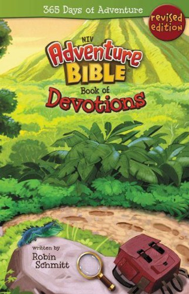 Adventure Bible Book of Devotions, NIV: 365 Days of Adventure Cover