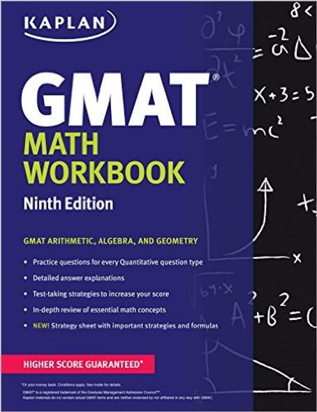 Kaplan GMAT Math Workbook Cover