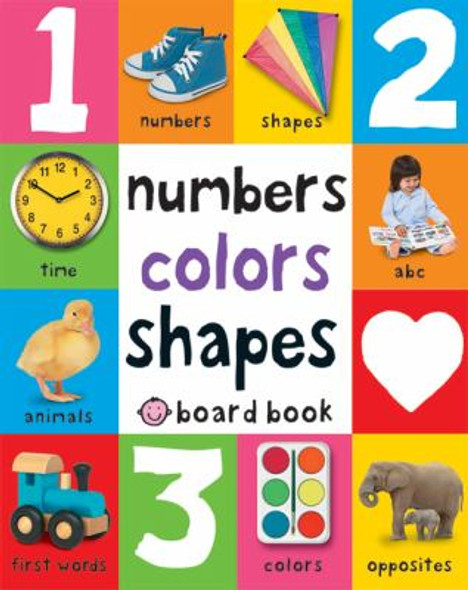First 100 Soft to Touch Numbers, Shapes and Colors Cover