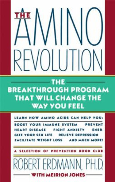 The Amino Revolution: The Breakthrough Program That Will Change the Way You Feel Cover
