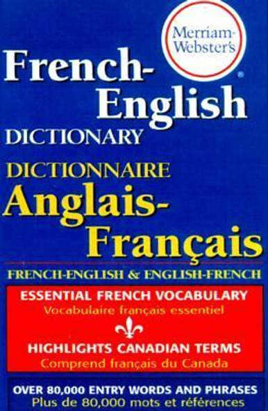 Merriam-Webster's French-English Dictionary Cover