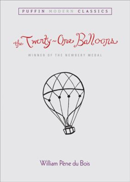 The Twenty-One Balloons (Turtleback School & Library Binding Edition) Cover