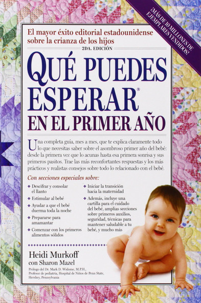 Que Puedes Esperar en el Primer Ano; What You Can Expect the First Year (Spanish Edition) Cover