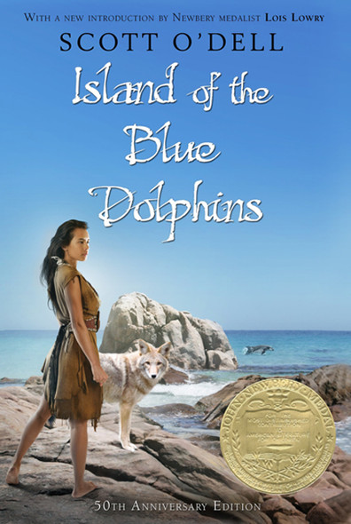Island Of The Blue Dolphins (Turtleback School & Library Binding Edition) Cover