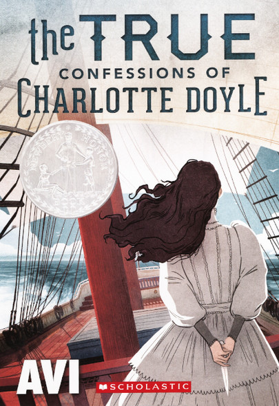 The True Confessions of Charlotte Doyle (Turtleback School & Library Binding Edition) Cover