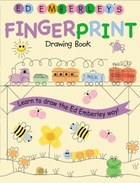 Ed Emberley's Fingerprint Drawing Book Cover