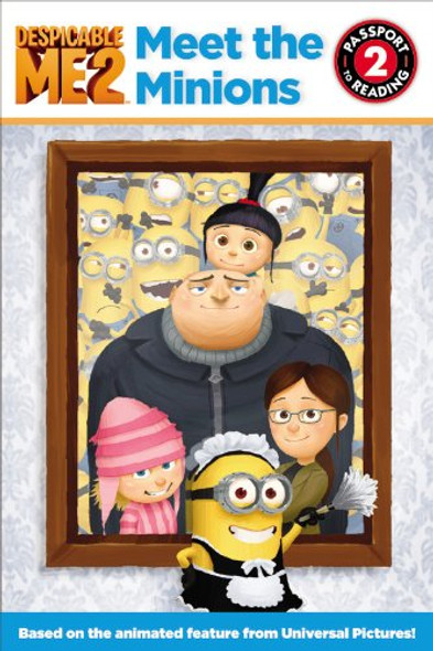 Despicable Me 2: Meet the Minions Cover