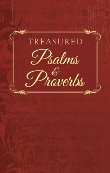 Treasured Psalms and Proverbs Cover
