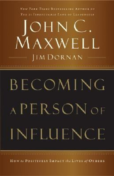 Becoming a Person of Influence Cover