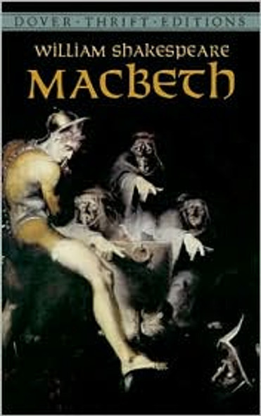 Macbeth (Dover Thrift Editions) Cover