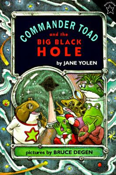 Commander Toad and the Big Black Hole Cover