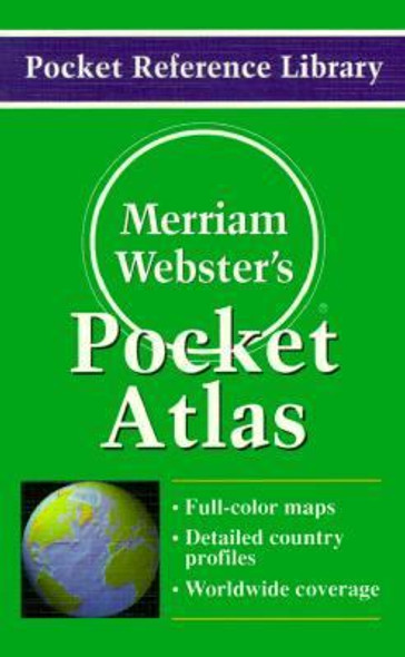 Merriam-Webster's Pocket Atlas Cover
