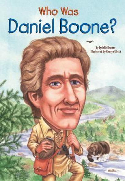 Who Was Daniel Boone? [Paperback] Cover