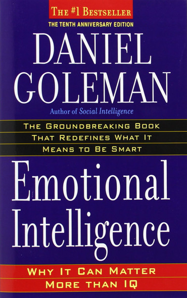 Emotional Intelligence (Anniversary) (10TH ed.) [Paperback] Cover