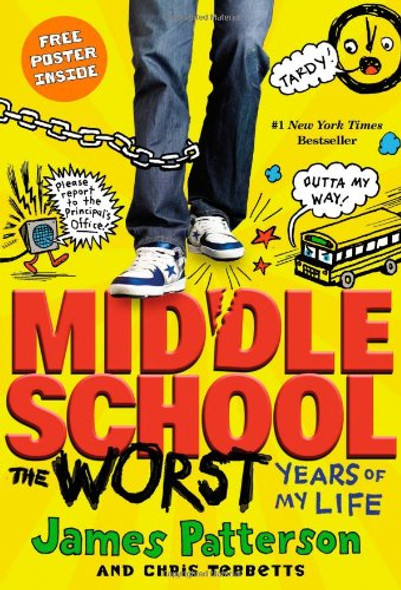 Middle School: The Worst Years of My Life [Paperback] Cover