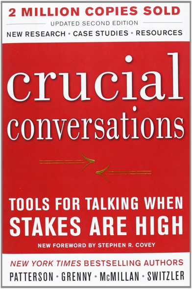 Crucial Conversations: Tools for Talking When Stakes Are High [Hardcover] Cover