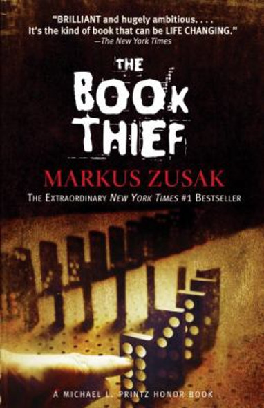 The Book Thief (Turtleback School & Library Binding Edition) [Library Binding] Cover