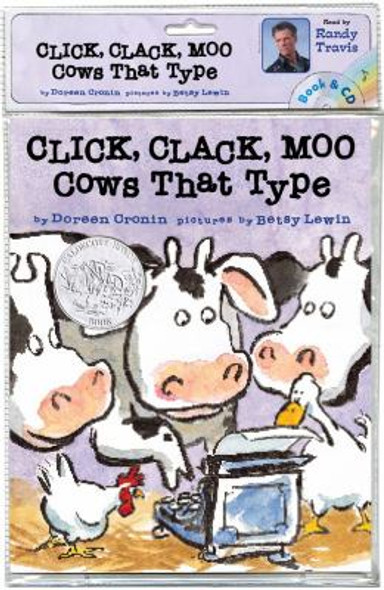 Click, Clack, Moo: Cows That Type [Paperback] Cover