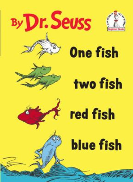 One Fish Two Fish Red Fish Blue Fish [Hardcover] Cover