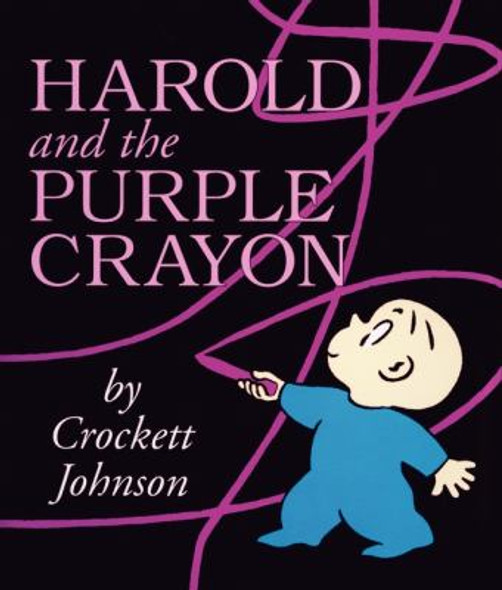 Harold and the Purple Crayon Board Book [Hardcover] Cover