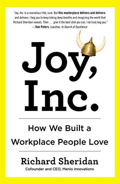 Joy, Inc.: How We Built a Workplace People Love Cover