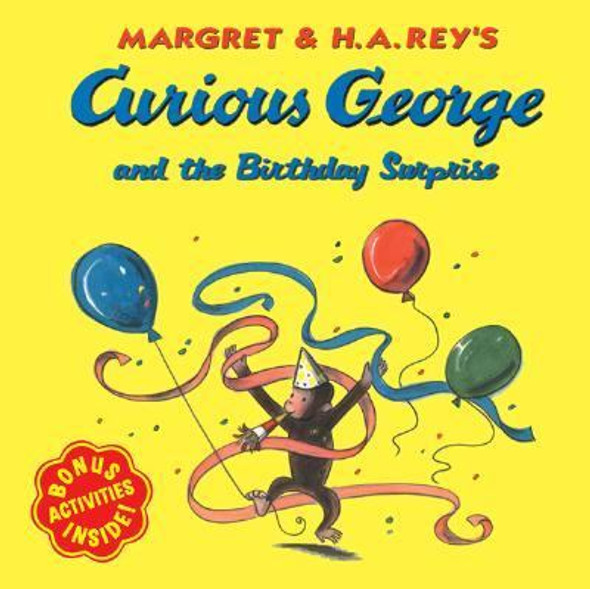 Curious George and the Birthday Surprise [Paperback] Cover
