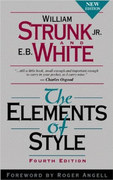 The Elements of Style (Elements of Style) [Paperback] Cover