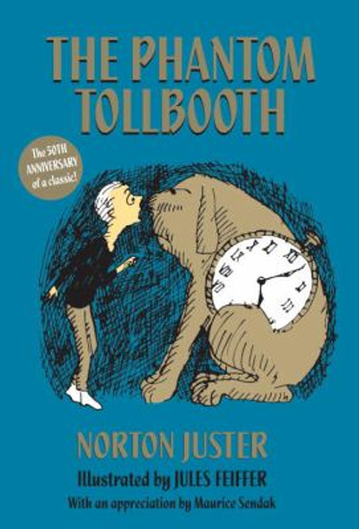 The Phantom Tollbooth (Anniversary) (35TH ed.) [Paperback] Cover