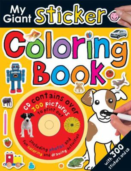 My Giant Sticker Coloring Book [Paperback] Cover