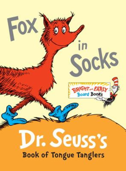 Fox in Socks: Dr. Seuss's Book of Tongue Tanglers Cover