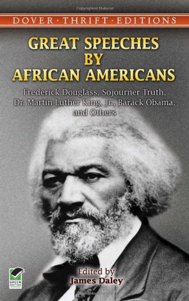 Great Speeches by African Americans: Frederick Douglass [Paperback] Cover