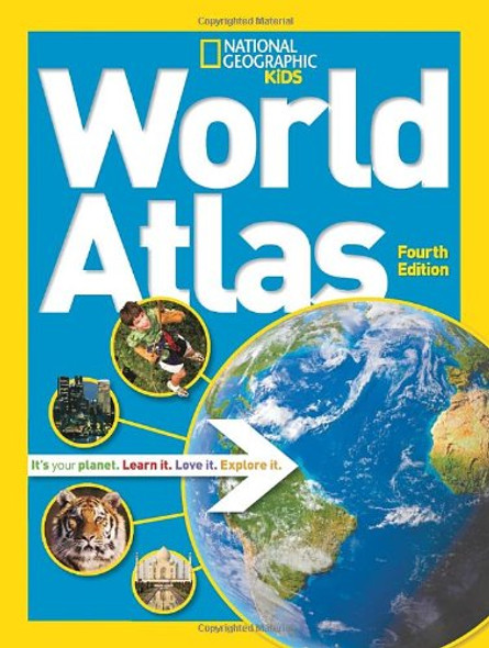 World Atlas ( National Geographic Kids (Paperback) ) [Paperback] Cover