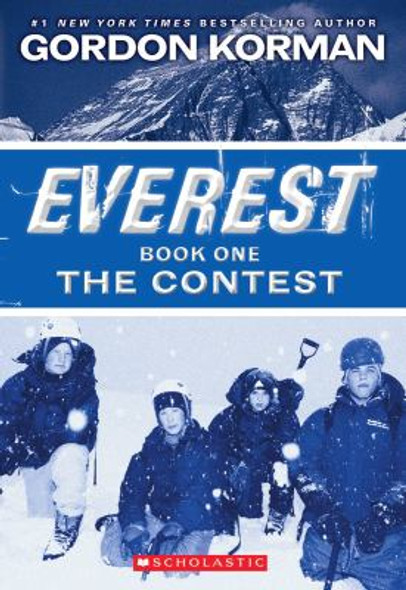 Everest Book One: the Contest Cover