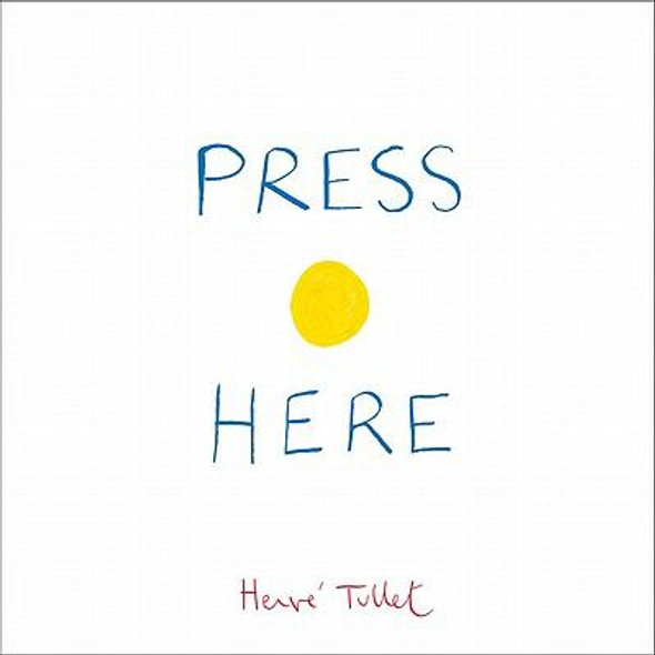Press Here [Hardcover] Cover