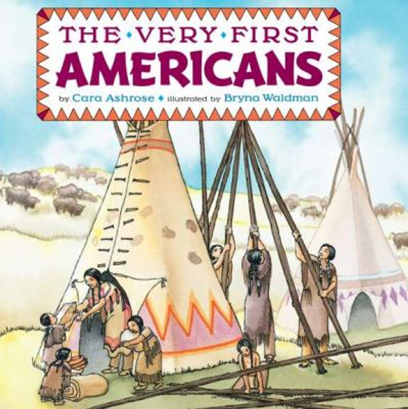 The Very First Americans [Mass Market Paperback] Cover