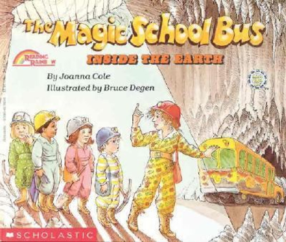 The Magic School Bus Inside the Earth [Paperback] Cover