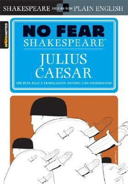 Julius Caesar (No Fear Shakespeare) (Study Guide) [Paperback] Cover