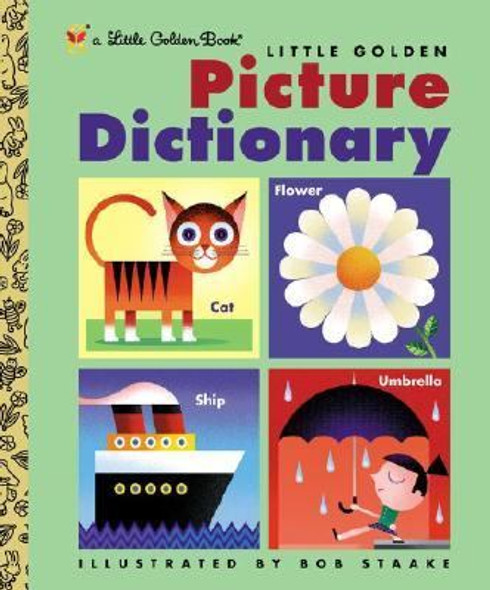 Little Golden Picture Dictionary (Little Golden Book) [Hardcover] Cover