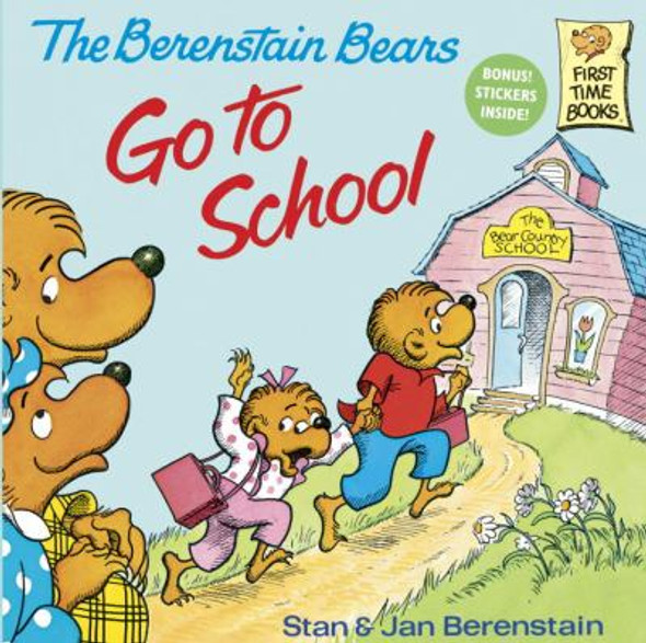 The Berenstain Bears Go to School [Paperback] Cover