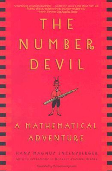 The Number Devil: A Mathematical Adventure [Paperback] Cover
